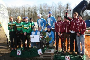 Men Open Day podium